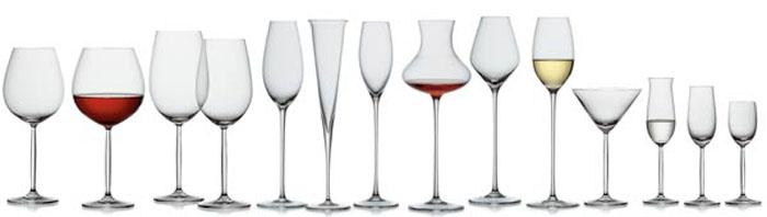 правильное распитие вина бокалы