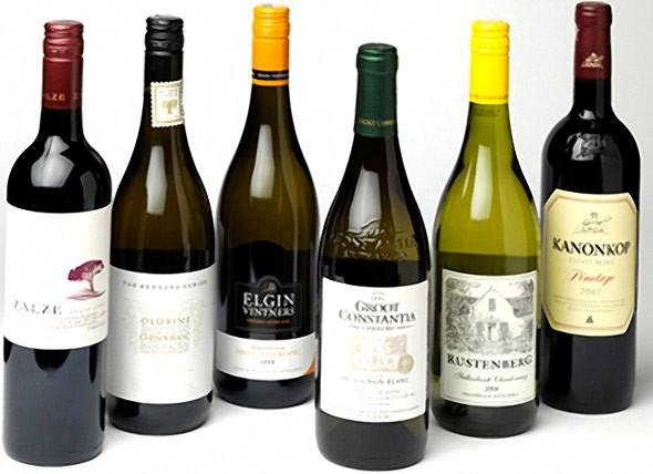 сорта вин для стола